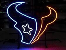"""New Houston Texans NFL Beer Neon Light Sign 20""""x16"""""""