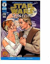 Star Wars Union # 4 NM Dynamic Forces Variant W/COA Gold Foil Dark Horse J68