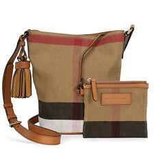 Burberry Small Ashby Crossbody Bag - Saddle Brown