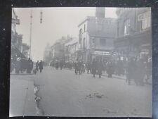 VINTAGE Photograph WESTCLIFF ON SEA High Street Shops ESSEX 1922 Large photo