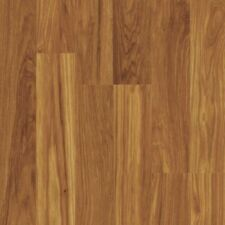 7.65in x 47.59in Laminate Flooring 10mm Thick, Hickory Brown (20.25 sq.ft./Case)