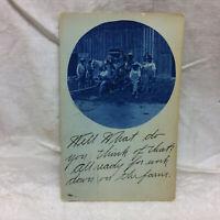 Vintage 1909 Farm Postcard