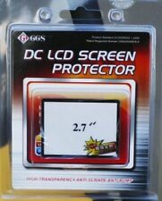GGS Optical Glass LCD Screen Protector 2.7 inches for Cameras Canon nikon