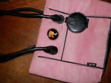 Vintage Barbie Purse, Measures 12 x 9.5 x 2.5 in. w/Matching Mirror