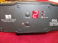 Pacific Crest Trimble GPS PDL 4535 Base Radio Modem 450-470 Leica Topcon sokkia