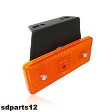 1 X Luce A Smd Led Ingombro 12v 12 Volt Laterale Arancio Per Camper Furgone Van