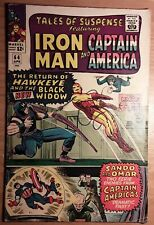 Tales Of Suspense #64 Fn Wh/Ow pgs Hawkeye Black Widow Cap Iron Man Nice Book!