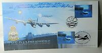 WW2 RAF 617 Squadron Dam Busters Johnny Johnson DFC  Signed Cover