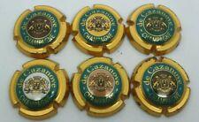 Série de 6 capsules de champagne De Cazanove