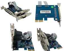 2 Serial DB9 1 parallel DB25 PCI express RS232 PCI-e Low profile bracket A290
