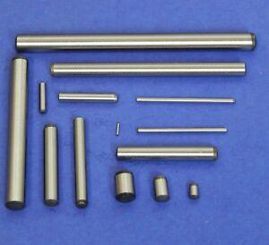 20 St/ück Zylinderstifte 3x12 DIN 7 Stahl blank Zylinderstift Pa/ßstifte Toleranz M6