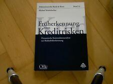 """Michael Maderbacher """"Früherkennung von Kreditrisiken"""", Band 14"""