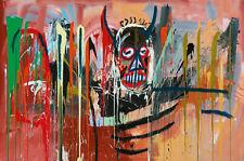 Jean Michel Basquiat Untitled Modern Abstract Canvas Fine Art 20 x 30 Inch A1