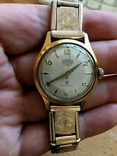 RARE VINTAGE MENS WATCH NIKLES ANTICHOC 17 JEWELS MANUAL WIND WORKING
