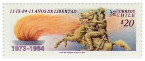 Chile 1984 #1111 Aniversario Gobierno Militar Presidente Augusto Pinochet MNH