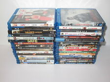BLU RAY 32 MOVIE LOT COLLECTION BLURAY LORD RINGS HOBBIT HEAT TRON JURASSIC