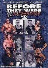 WWE - Before They Were Stars 02 (DVD, 2003)