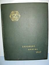 1937 Exponent Annual, Greenfield High School, Greenfield, Massachusetts Yearbook