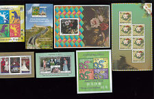 2011-2014 Aitutaki Cook Islands Postage Stamp Souvenir Sheets Collection of 7