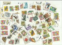 South Africa postage stamps x 70, off paper, used (Batch 2)