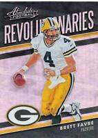 2018 PANINI ABSOLUTE REVOLUTIONARIES INSERTS NFL FOOTBALL CARD SINGLES YOU PICK