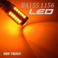 Ampoule 33 LED Orange BA15S-1156 P21W feu clignotant Lampe signal 12V ESS TECH®