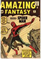Amazing Fantasy 15 Custom Made Cover 1980'S Reprint 1st Spiderman REPRINT
