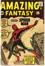 Amazing Fantasy 15 Custom Made Cover with 1964 Reprint 1st Spiderman REPRINT