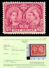 Canada 61, Mint $1 Jubilee VF LH Greene Cert -  Unitrade $1,200.00 - Stuart Katz