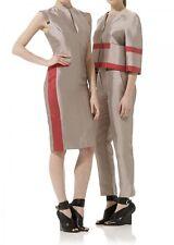 *AMANDA WAKELEY* MIKADO SILK DRESS (UK 10)