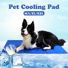 Pet Dog Cat Cooling Pad Mat Ice Gel Cushion Summer Heat Dissipation 4 Size 。