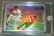 1996 GREG MADDUX CHROME MASTERS OF THE GAME REFRACTOR #MG19 BRAVES