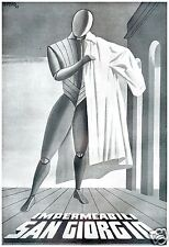 WASSERDICHT SAN GIORGIO FUTURISMUS PERSPEKTIVE ATTRAPPE MARIO PUPPO 1943