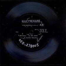 7inch GULF PRESSURE balconi / NASMAK 1981 FLEXI 33 RPM POST PUNK