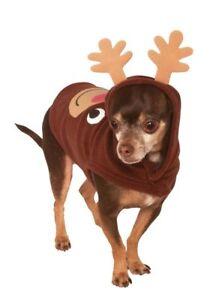 Rubies Dog Reindeer Hoodie Small