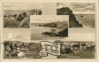 LIZARD Multi View Postcard nr Helston CORNWALL Photochrom Co Ltd