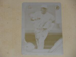2019 Bowman Prospect 1st Bowman Printing Plate #BP100 Wander Franco 1/1 RC