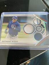 2021 Topps Tribute Anthony Rizzo Game Used Memorabilia 129/150 Cubs