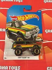 Chevy Blazer 4×4 #130 2017 Hot Wheels Case F