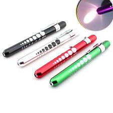 Medical Surgical Doctor Nurse Emergency Reusable Pocket Pen Light Penlight Torch