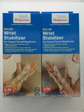 Deluxe Wrist Stabalizer S/m Left And Right For Carpal Tunnel
