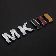 Auto German Flag Color MKIII Rear Trunk Badge Emblem Sticker For Golf Jetta MK3