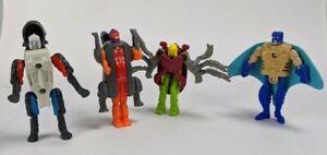 1996 McDonald's Happy Meal Beast Wars Transformers Beetle Rhino Manta