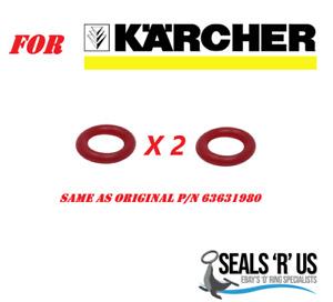 Karcher Pressure Washer Trigger Gun Red O-Ring O Ring X 2
