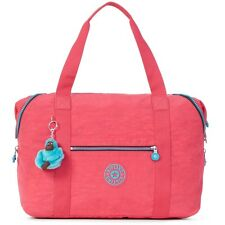 The Kipling Vibrant Pink Art M Large Tote, One Size