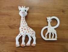 SOPHIE THE GIRAFFE SQUEAKY BABY SOFT TOY & MATCHING TEETHER