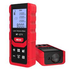 Laser Distance Meter 165ft 50 Meters Multiple Features Measuring Tool