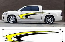 VINYL GRAPHIC DECAL CAR TRUCK KIT CUSTOM SIZE COLOR VARIATION MT-231-M