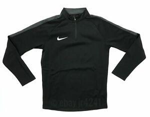Nike Academy18 Drill LS Top Youth Unisex Medium Black 1/4 Zip 893744 Boys 10-12