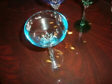 STEMWARE CHAMPAGNE AND THERE ARE 3 IN THIS LISTING MEASURES 6 1/2 X 3 1/2 INCHES